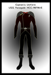 Captain's Uniform Revised by GregStitz