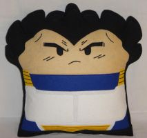 Handmade Anime Dragon Ball Z Vegeta v1.43 Pillow by RbitencourtUSA