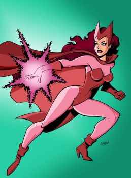 Scarlet Witch by LostonWallace