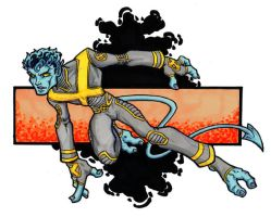 marker nightcrawler by noctrnlcry
