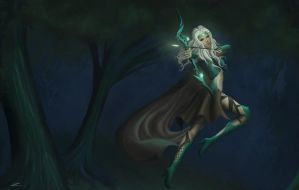 Headhunter Ashe Concept by Zarory