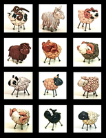 Sheep toys by EatToast