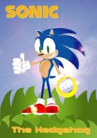 Sonic the Hedgehog by Josiahsal