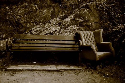 Bench and Chair by renegade-of-funk82