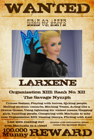 Wanted: Larxene by gttorres