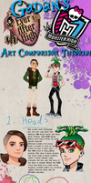 Ever After High, Monster High Art Comparison2,boys by Gadan-Yuumei