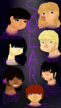 Project S.O.L.A.R Promotional Poster by LilacLover1232