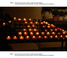 Church candles V by Mithgariel-stock