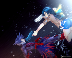 Vanitas vs Iriselle by KawaINDEX