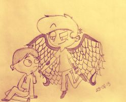 Angel guardian by LittleThingsCxD