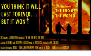 Doctor Who Film Poster - The End Of The World by mamajimmy