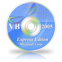 VB Express CD Icon by BrightKnight