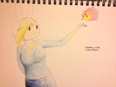 Fionna and the Flame Prince by br3ttl3w