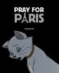 Pray for Paris by Nakouwolf