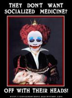 Obama the Red Queen by Conservatoons