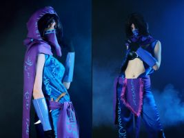 Female Malzahar Cosplay: We are timeless by Hanuro-Sakura