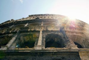 Colloseum by BlueColoursOfNature