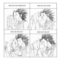 ZackxAerith cute kiss meme by Naru-Nisa