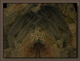 The entrance to my cave by DigitalPainters