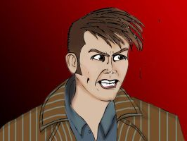 Tennant as Doctor by sarahbevan11