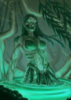 Swamp Girl by charco