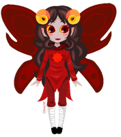 Chibi Aradia by DemonicLollipop