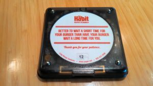 The Habit's Burger Pager by BigMac1212