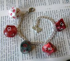 Seeing Red... Dice by lavadragon