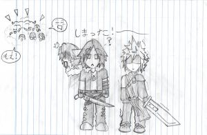 Cloud and Leon Fans: UNITE by Shinigamichick39