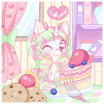 .:Little Cake Lover:. by Fumuu