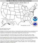 Record Number of Tornadoes for March... ZERO. by Kajm