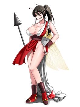 Commission: Honey Bee as Mai by R-Legend