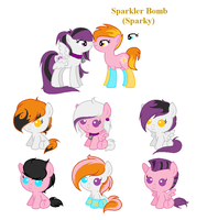 Sparky X Dream Eater Foals :Open: by EndersAdopts
