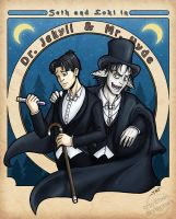Jekyll and Hyde by furinchime