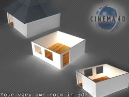 Your own room in 3d by LogitechAdrian