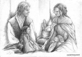 Skywalker Family: SW AU by leiaskywalker83