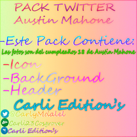 Pack Twitter Austin Mahone By Carli Edtion\'s by Carli23Cosgrover