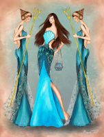Daughters of Poseidon Fashion Collection 2 by BasakTinli