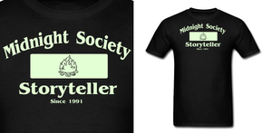 Midnight Society Storyteller T Shirt by Enlightenup23