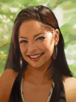 Kristin Kreuk by PVproject