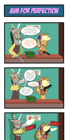 Pony 4 Koma - Aim For Perfection by Reikomuffin