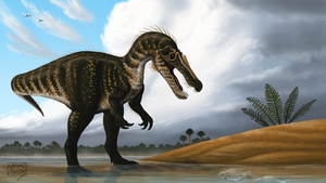 Baryonyx walkeri by MicrocosmicEcology
