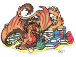 Bookwyrm colouring by NightFever100