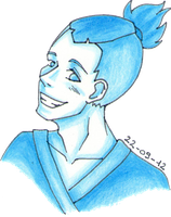 Sokka (another sketch) by ByLi4