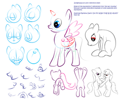 Pony perspective reference by zomgitsalaura