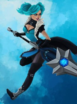 Paladins Evie by Art-of-CML
