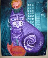 Cats in town by Creativeness