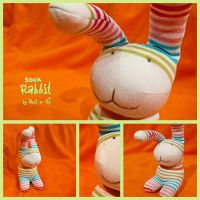 Sock Rabbit by Nell80