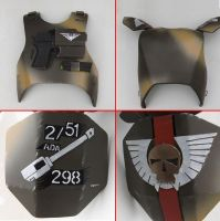 Armour WIP for Hydra gunner by ElysianTrooper