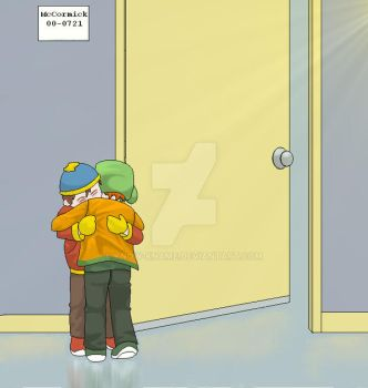 kyle and cartman by Know-Kname